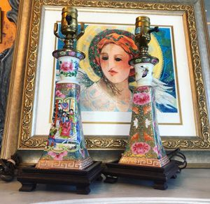 Palm Beach Chic Chinoiserie Lamps for Sale in Stuart, FL