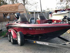 1998 ranger bass boat for Sale in Modesto, CA