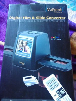BRAND NEW camera film to SD card converter! $50 for Sale in Orangevale, CA