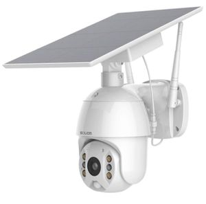 Home Security Camera Outdoor Pan Tilt Spotlight Solar Battery Powered Motion Detection IP Camera with Color Night Vision,2.4G WiFi Wireless,Secure Cl for Sale in Alhambra, CA