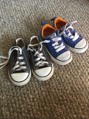 Converse Chuck Taylors Size 7 kids toddler for Sale in Hesperia, CA