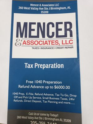 Tax Preparer for Sale in Birmingham, AL