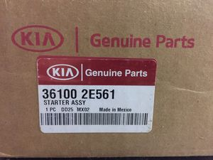 Brand new Kia Forte 2.0 starter in original packaging for Sale in Evesham Township, NJ