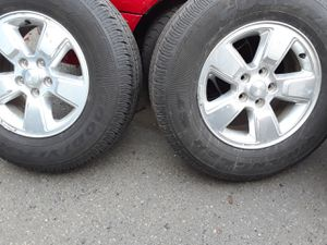 Jeep liberty rims..size 16 for Sale in Chelsea, MA