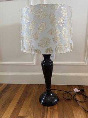 Black lamp/ gold leaf / :PENDING PICK up for Sale in Snohomish, WA