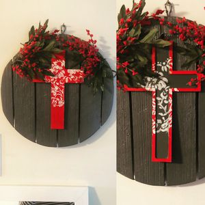 Wall Decor- Floral Cross for Sale in Washington, DC