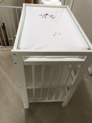 Ikea changing table and pad with cover for Sale in Naperville, IL