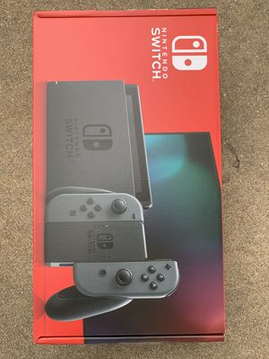 BRAND NEW Nintendo Switch 32GB V2 Console With Gray Joy-Cons for Sale in Arlington, TX