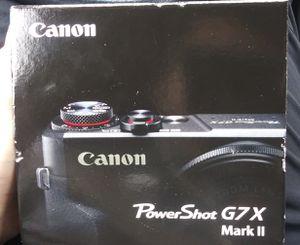 Canon PowerShot G7X Mark II for Sale in San Francisco, CA