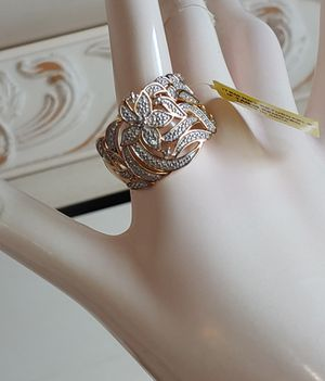 50% OFF New RING with tag 14k gold over sterling silver ring for Sale in Pompano Beach, FL