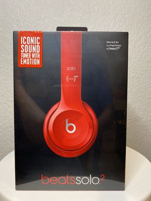 Brand new Beats solo 2 red edition for Sale in Corona, CA