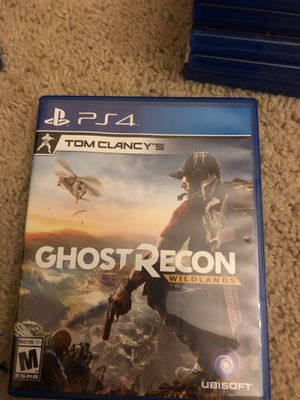 Ghost Recon: Wildlands (PS4) for Sale in Irvine, CA