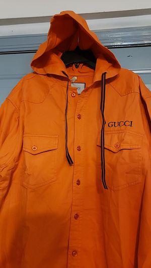 G Fashion denim hoodie jacket for men for Sale in Jersey City, NJ