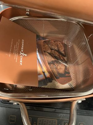 COPPER CHEF BRAND NEW NEVER BEEN USED for Sale in Hesperia, CA