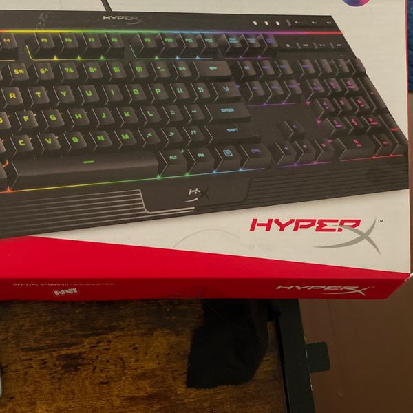 Hyper X Alloy Core RGB Gaming Keyboard
