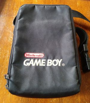 Nintendo Game Boy official carrying case travel bag for Sale in Chicago, IL