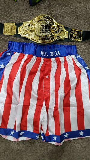 Balboa shorts and belt for Sale in Chula Vista, CA