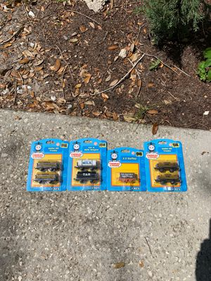 Thomas and Friends ERTL Trains Set of 7 Very Rare 4 Oil Tankers 1 Milk tanker 1 Tar tanker 1 S.C.Ruffy Freight Car for Sale in Heathrow, FL