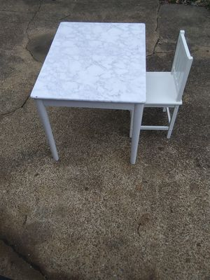 Kids table and chair for Sale in Virginia Beach, VA