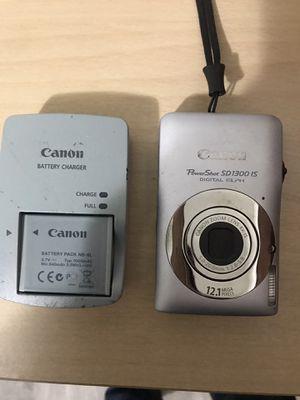 Canon camera 12.1 mega SD 1300 for Sale in San Diego, CA