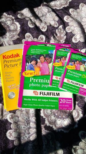 Fujifilm & Kodak premium photo paper for inkjet printers for Sale in Santa Clara, CA