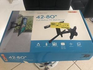 Full motion Tv wall mount /New for Sale in Poinciana, FL