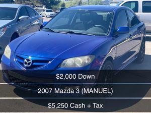 2007 Mazda 3 ( MANUEL) for Sale in Las Vegas, NV