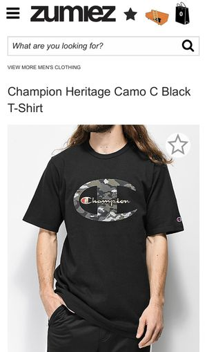 Champion Shirt Camo for Sale in San Diego, CA