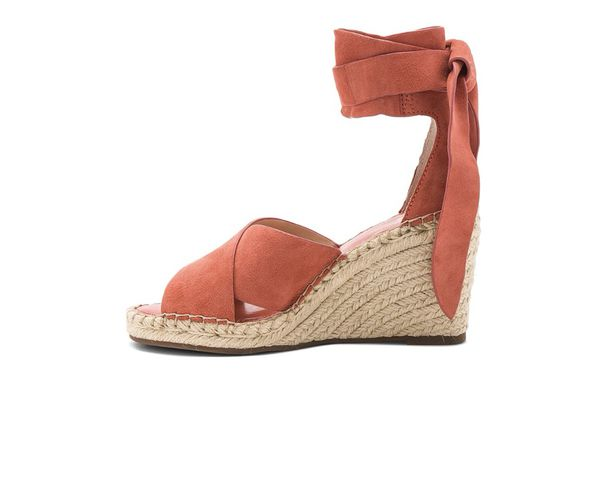 673944772f2 VINCE CAMUTO Leddy Ankle Wrap Espadrille Wedge Sandals - color Melon ...