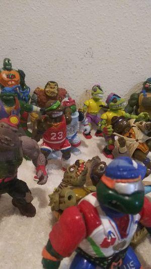 Vintage Ninja Turtles figures for Sale in Hemet, CA