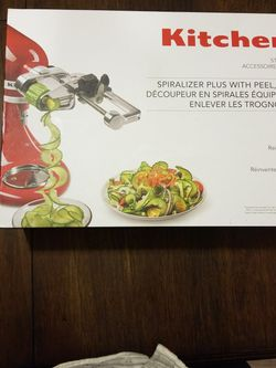 Kitchen Aid Spiralizer And Peeler Set for Sale in Seattle,  WA