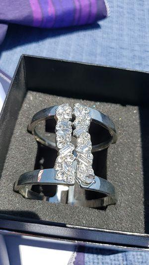 Open front silver bracelet for Sale in San Diego, CA