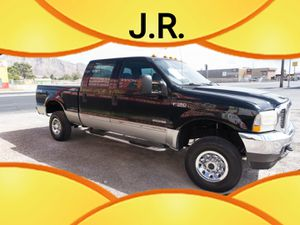 2003 Ford F-350 Super Duty Crew 4x4 Cab Miles 144,171 for Sale in Las Vegas, NV