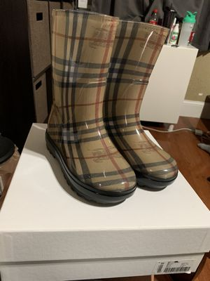 Kids Burberry rain boots for Sale in Boston, MA
