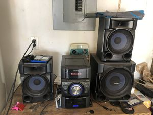 Sony boom box for Sale in Lake Mary, FL
