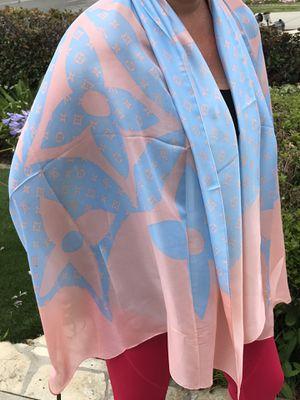 LOUIS VUITTON 100% Silk scarf for Sale in Laguna Beach, CA