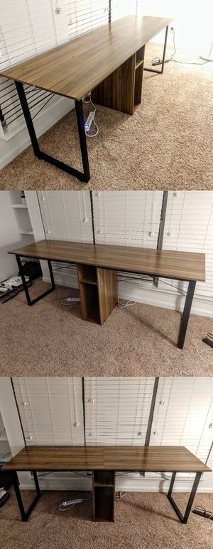 Large Desk With Shelves for Sale in Durham, NC
