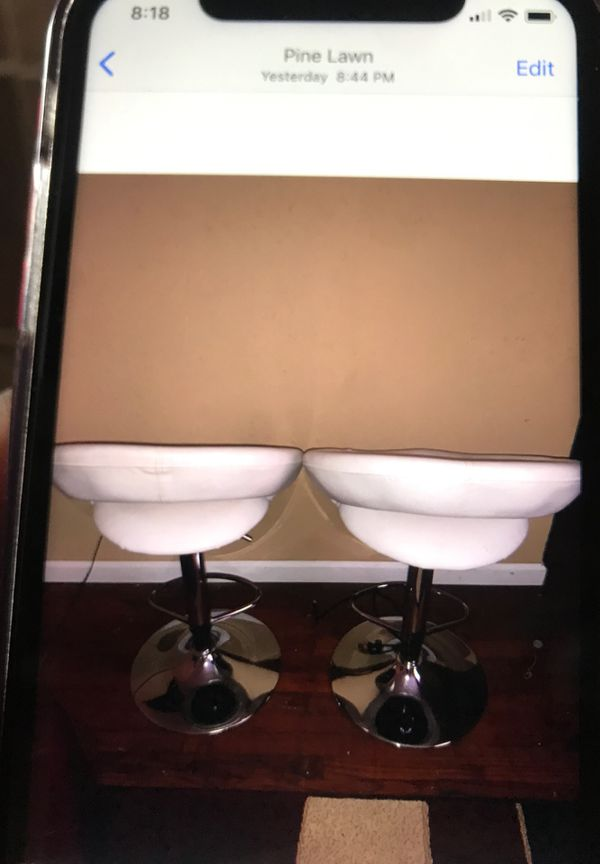 White leather furniture