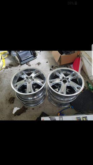 4 chrome rims for Sale in Beltsville, MD