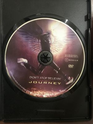 DON'T STOP BELIEVIN': EVERYMAN'S JOURNEY (DVD 2013) Not In Original Case but in a black dvd case. Condition is Very good for Sale in Murfreesboro, TN