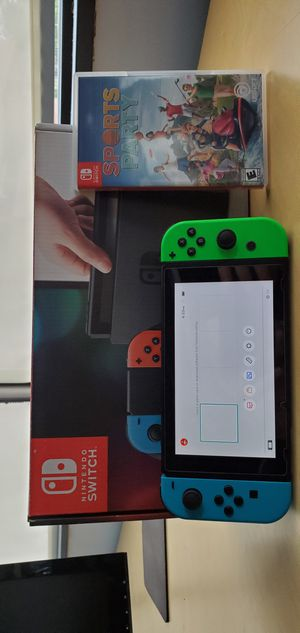 Nintendo Switch (like-new) with all original accessories and game for Sale in Stone Ridge, VA