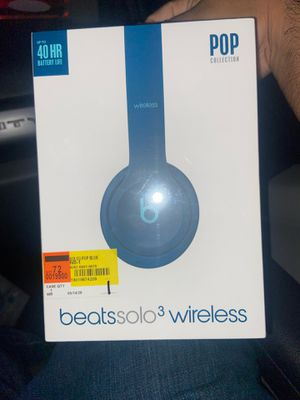 Beats solo 3 wireless headphones for Sale in Houston, TX