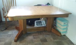 Solid wood dining table for Sale in Columbus, OH