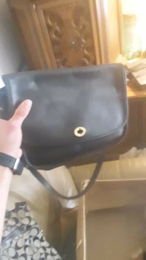 Vintage Leather Messenger Coach Bag for Sale in Charlotte, NC