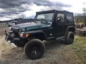 2001 Jeep Wrangler for Sale in Seattle, WA