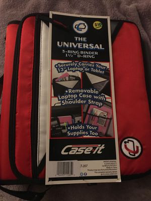 Laptop case & binder for Sale in Annville, PA