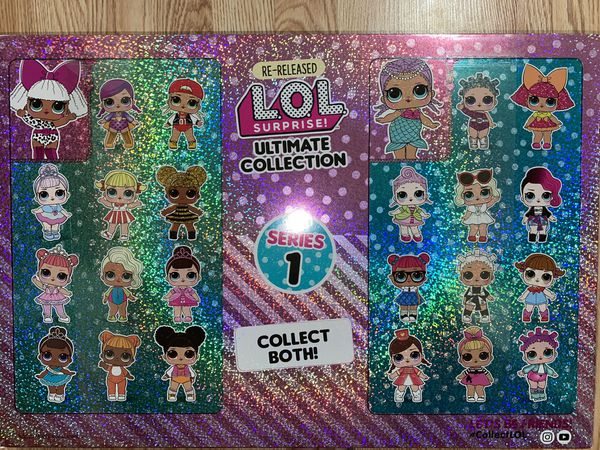 Lol surprise ultimate collection series 1 re-release (12 dolls)