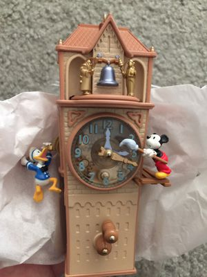 Disney Hallmark Clock Cleaners ornament! for Sale in Norco, CA