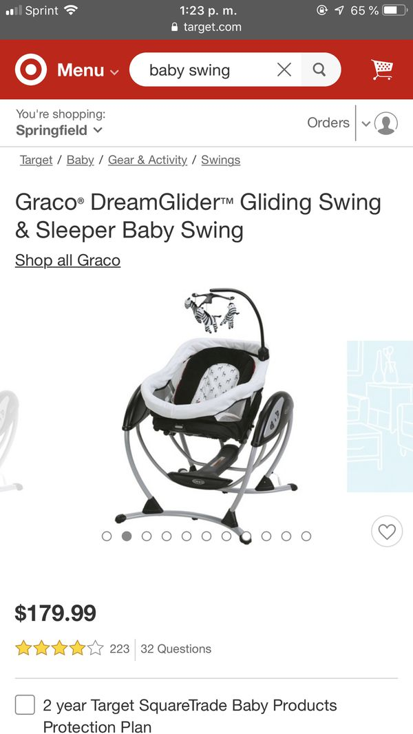 Baby swing electric good condition 3 in 1
