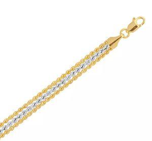 10k Real gold bracelet for Sale in US